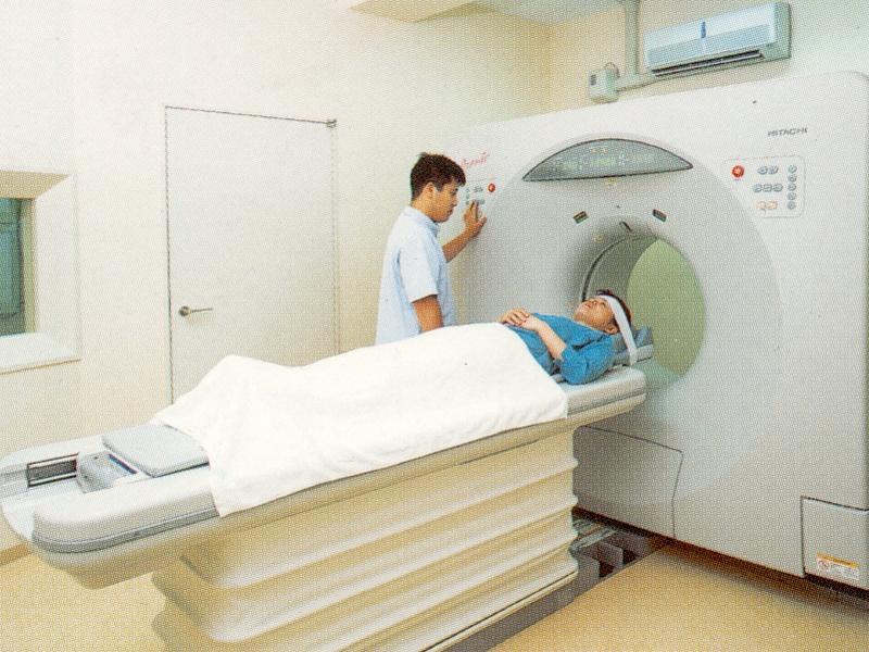 ▲【脳ドック】 MRI 検査