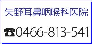 矢野耳鼻咽喉科医院ロゴ