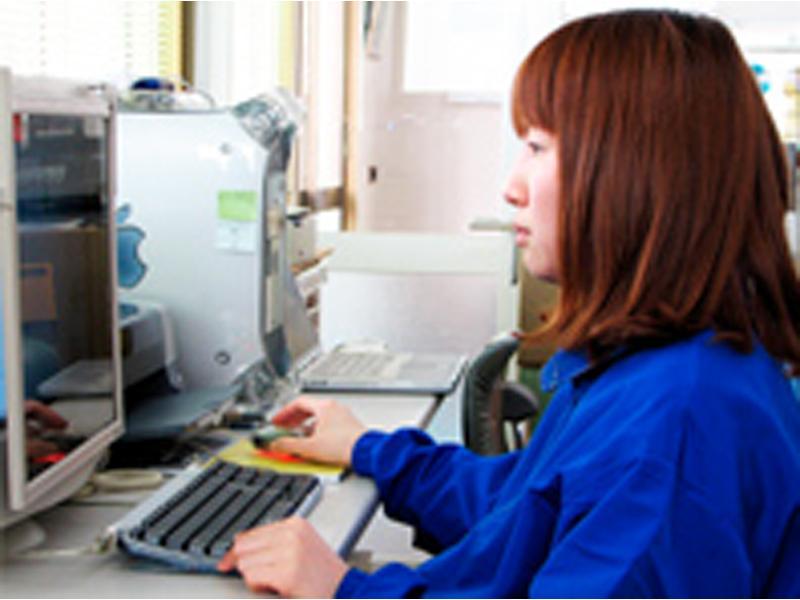 豊富な製造実績で多量の資料をデジタル保存