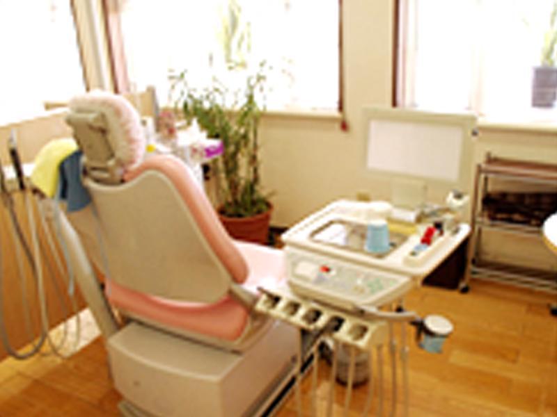 リラックスして治療をうけていただける診察室