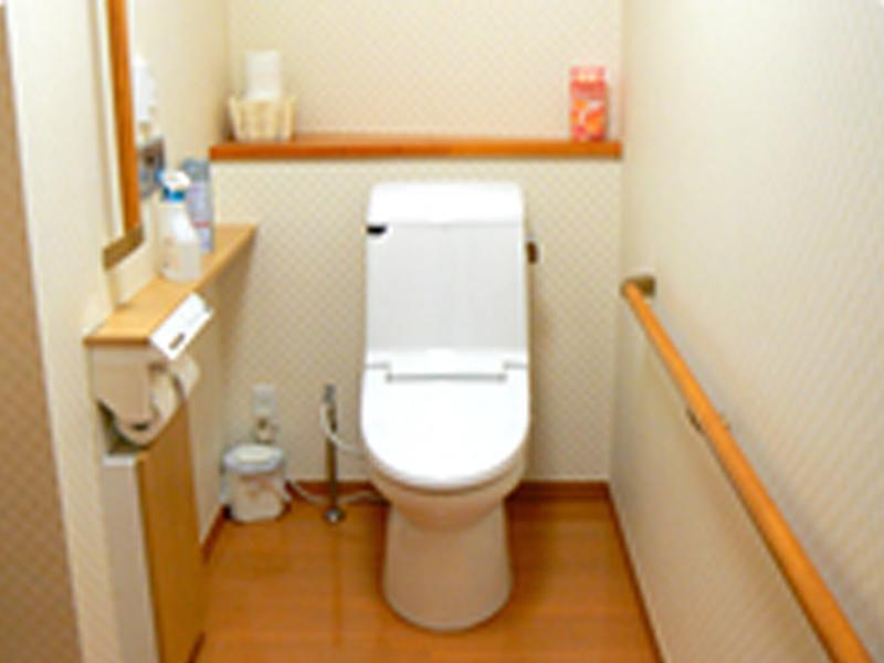 トイレもバリアフリーで安心です