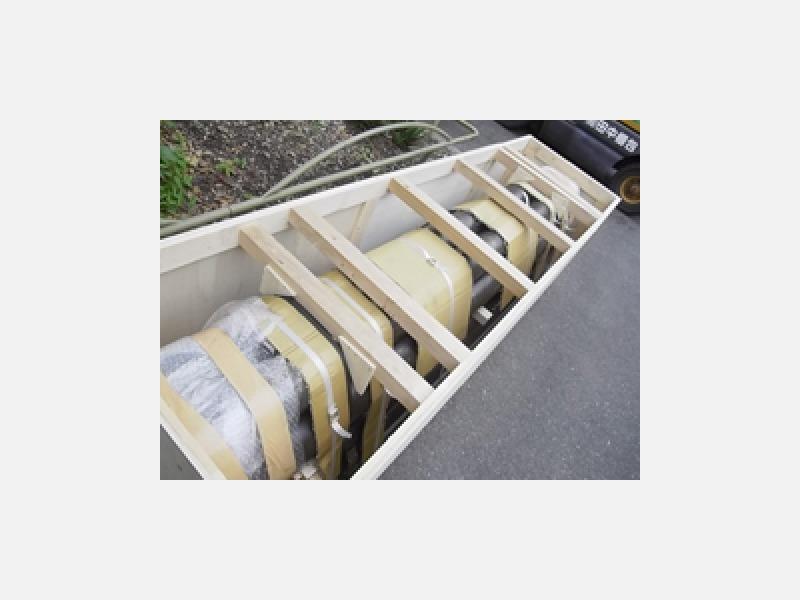 輸出用梱包、国内輸送梱包どちらにも対応
