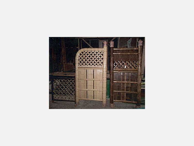 慶応からの技で天然・人工材の竹製品を注文に応じ製造