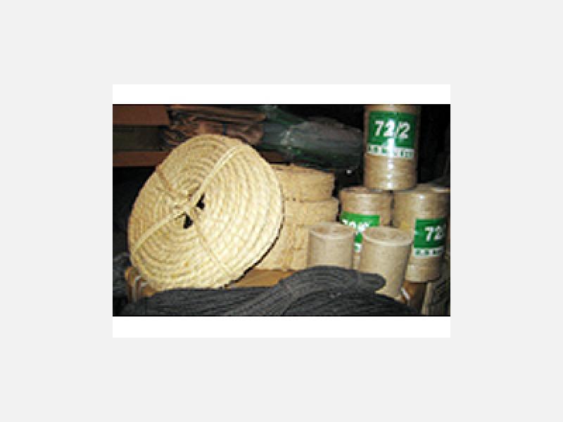 竹製花篭・雑篭、わら・棕櫚製品・緑化資材在庫2万点