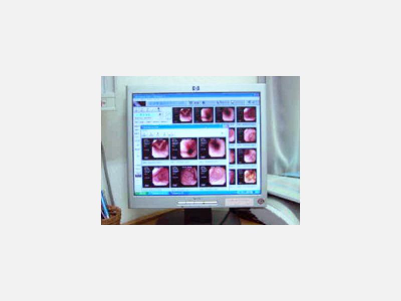 内視鏡ファイリングシステム/診察室でお見せできます