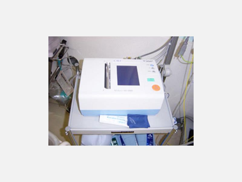 脈派測定器/動脈硬化や血管の詰まりを調べます