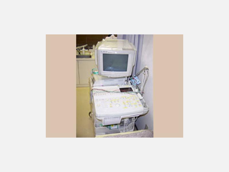 心臓超音波検査器/心臓や弁の働きや血流を診ます