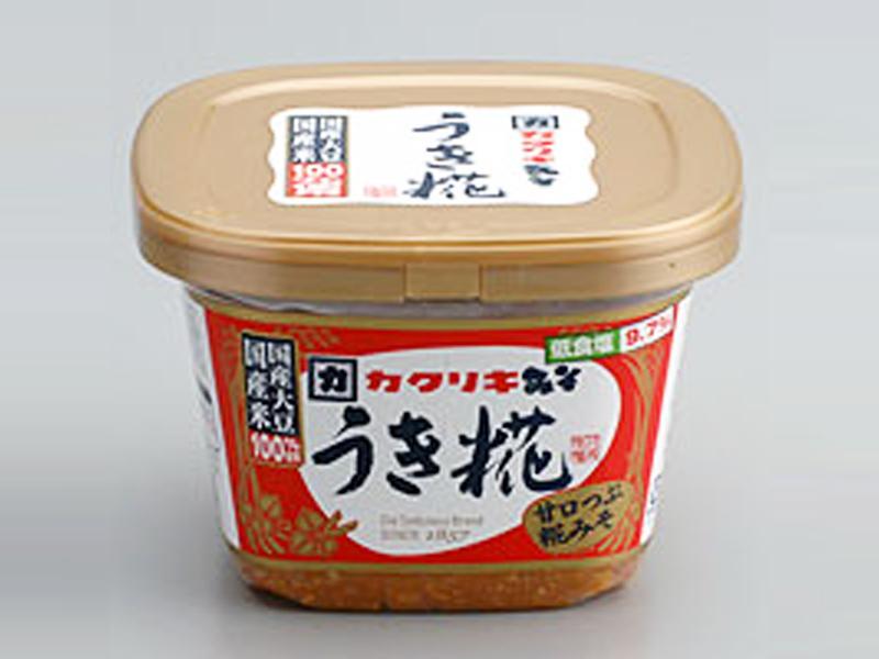 国産大豆と国産米使用塩分9.7%の低食塩タイプ