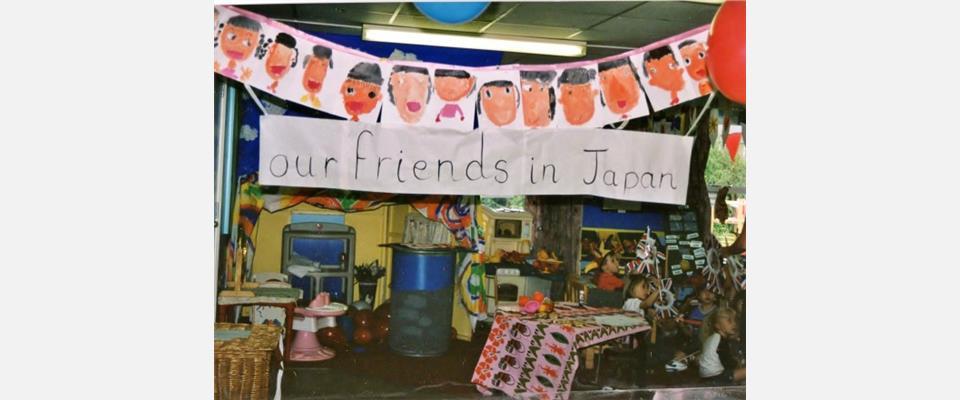 熊谷市のさくら幼稚園 国際交流を通して幅広い視野確