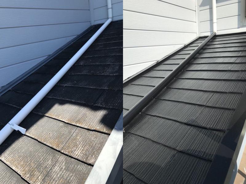 屋根塗装(施工例)