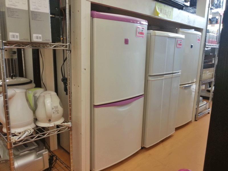冷蔵庫や洗濯機(保証つきです)