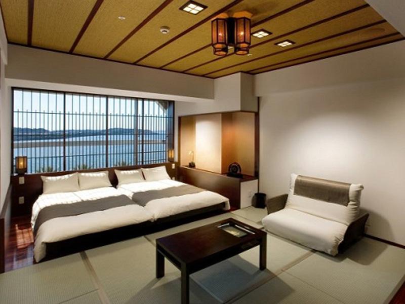 シティホテルの機能性を融合させたデザイン和室