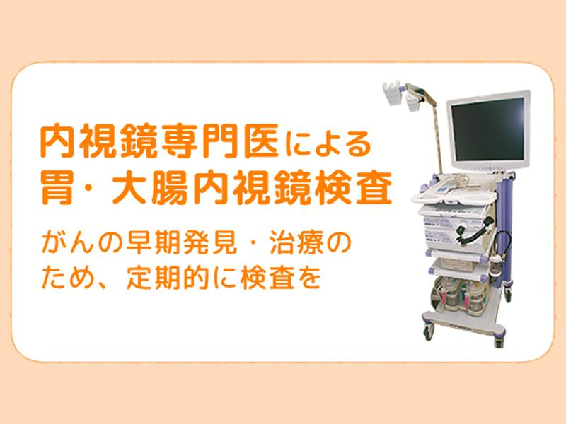 内視鏡専門医による胃・大腸内視鏡検査