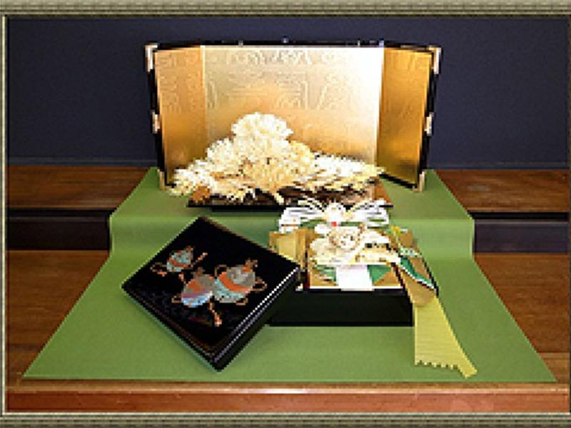 結納BOX飾り(婿養子様用)
