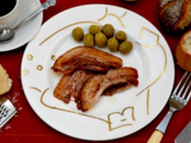 無塩せきベーコン Bacon