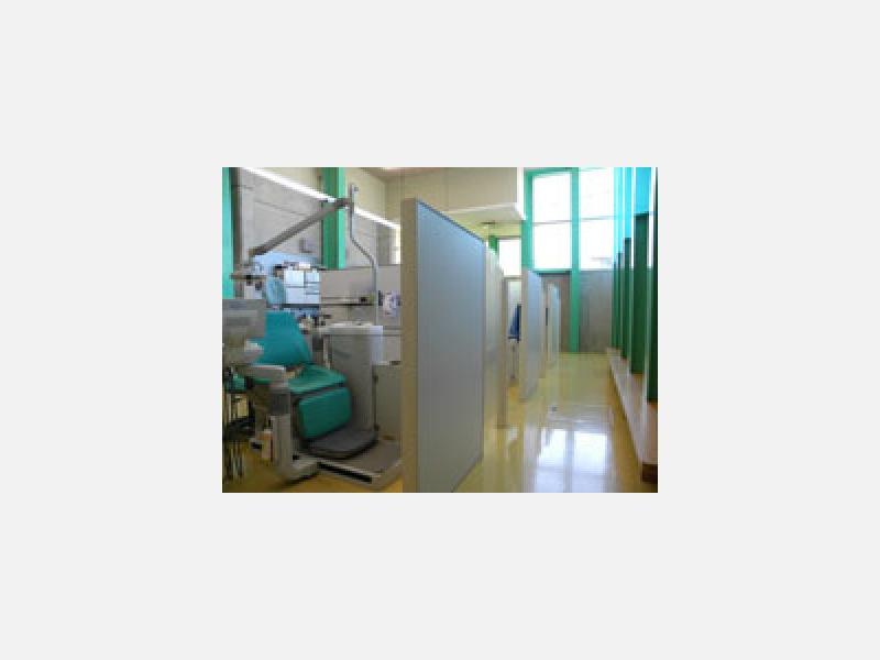 プライバシーに配慮した診察スペース