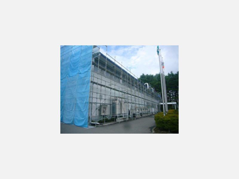 施工例:低層住宅専用の超軽量BK足場を専門