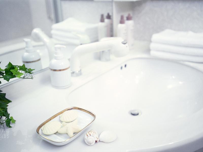 シンク・バスルーム・トイレ等、水まわりのお掃除もお任せ下さい