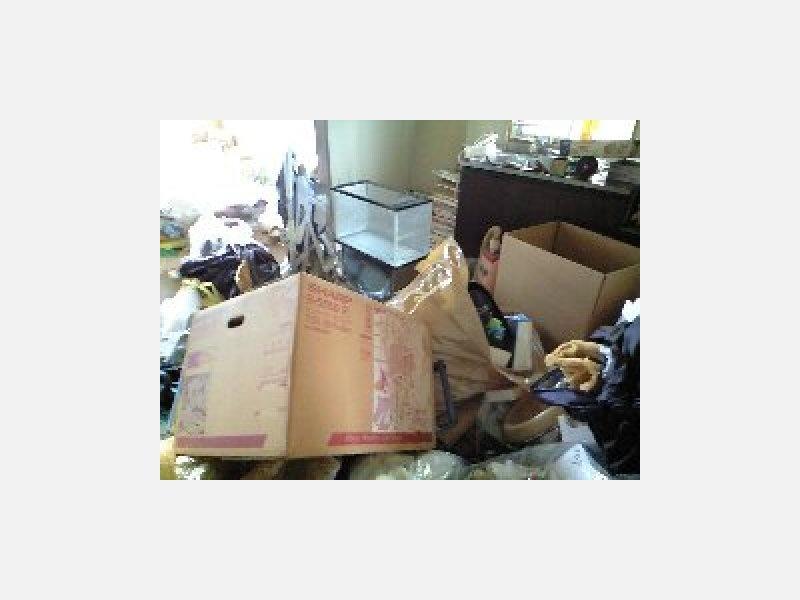 引越し後の片付けや不用品の回収はおまかせ下さい。