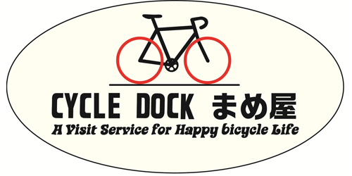 CYCLE・DOCKまめ屋ロゴ
