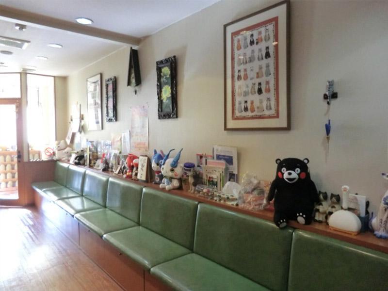 待合室★猫専門の動物病院
