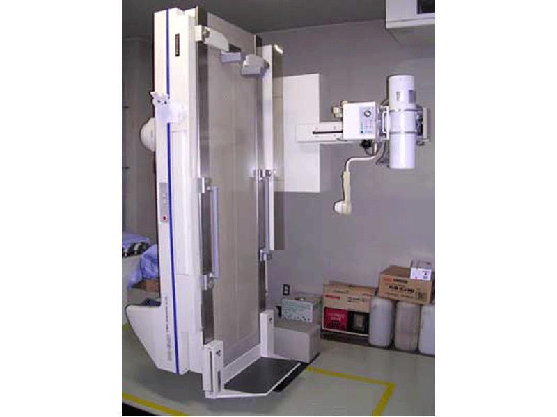透視撮影装置は、リアルタイムにX線透視画像を得られる装置です