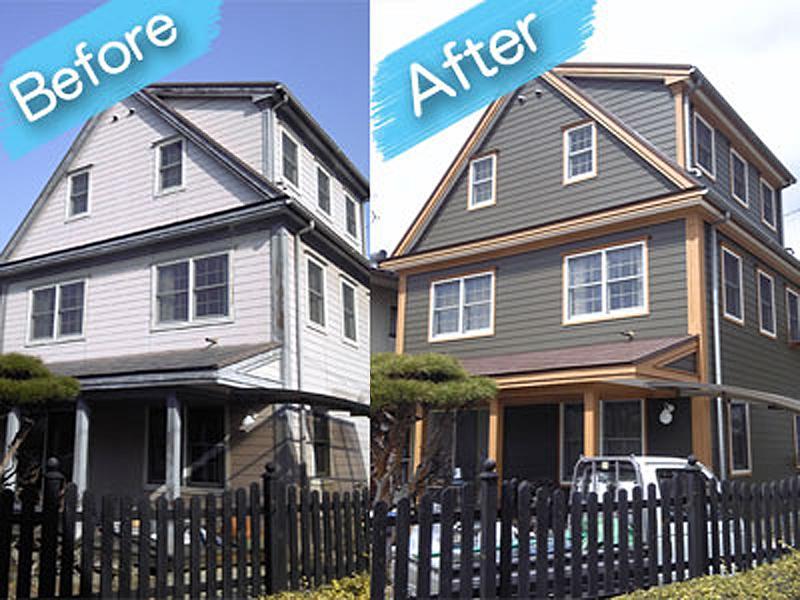 住宅塗装 施工例