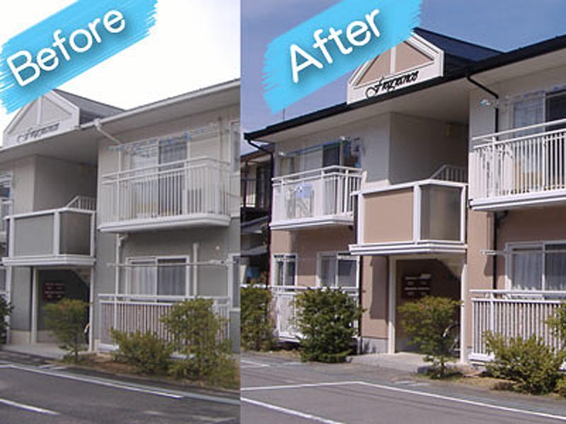 アパート塗装 施工例