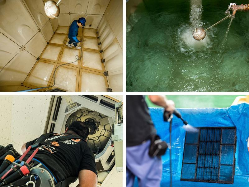 給排水設備/空調機器の保守管理