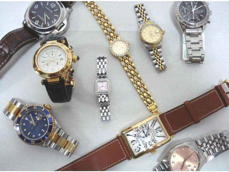 高級時計の品揃え多数