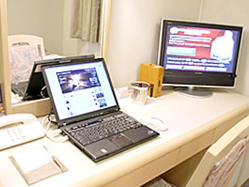 全客室においてインターネットをご利用いただけます