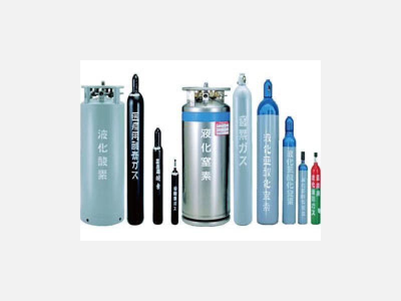医療ガス 酸素・窒素・笑気・空気・二酸化炭素等