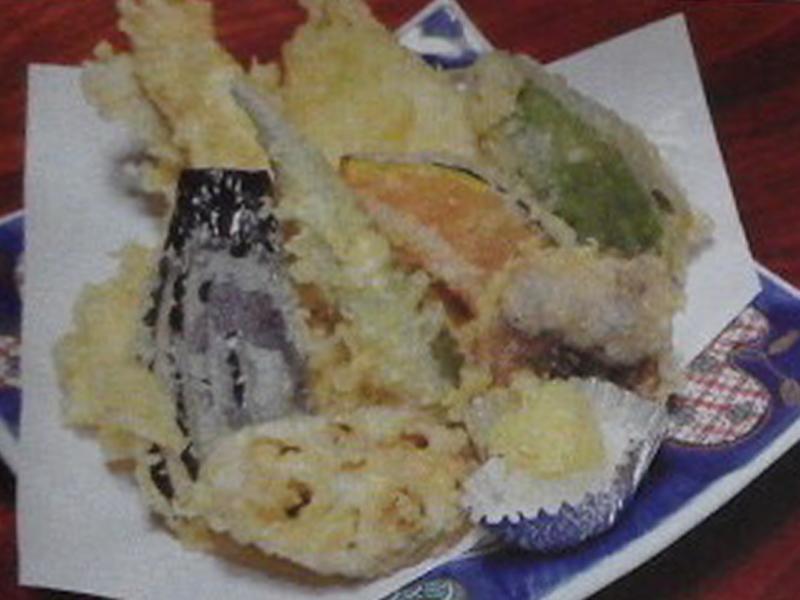 上越市高田城近くの天ぷら屋