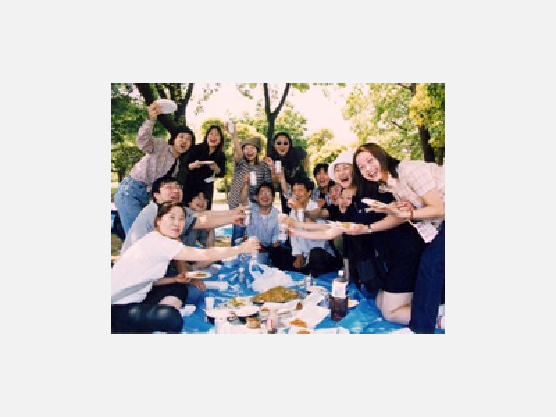 富士公園でバーベキューパーティー