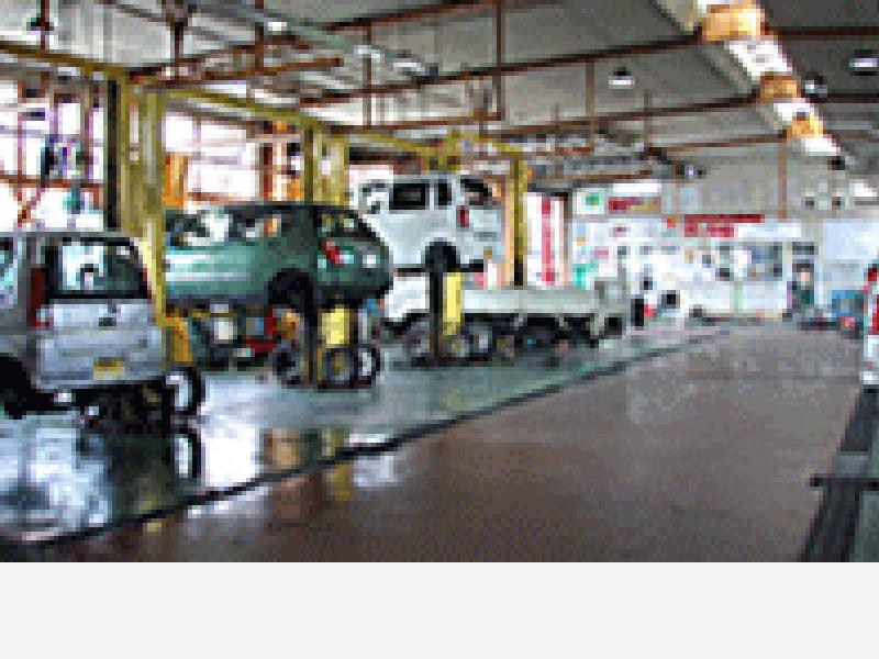 民間車検工場で安心整備