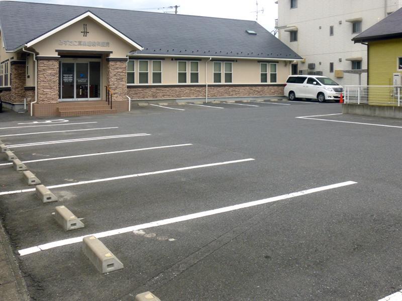 余裕の駐車スペース