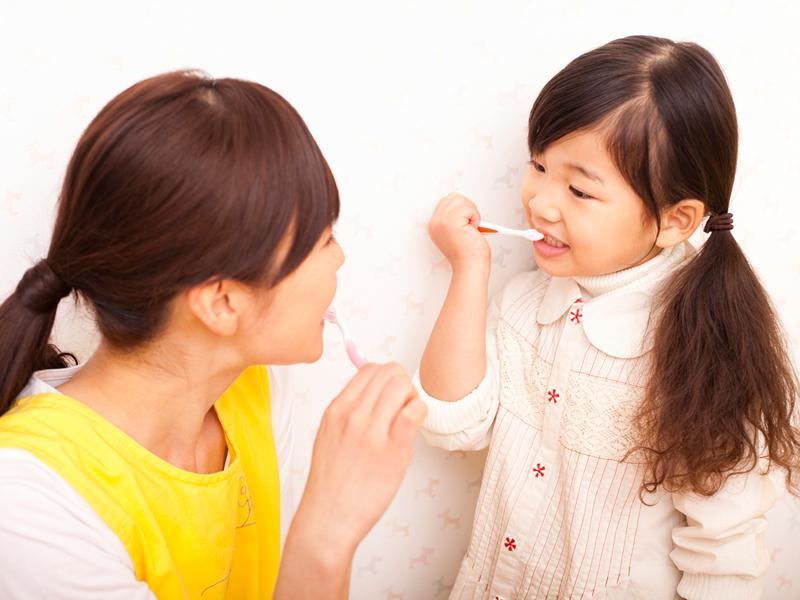 歯の予防指導