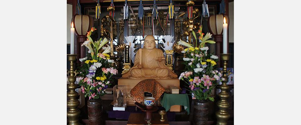 病気平癒祈願夏心さんの寺、耀海寺です