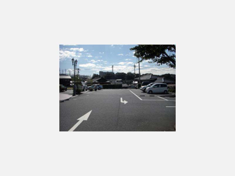 広い駐車場ございます