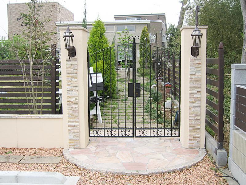 洋風庭園 ガーデニング花壇の設計