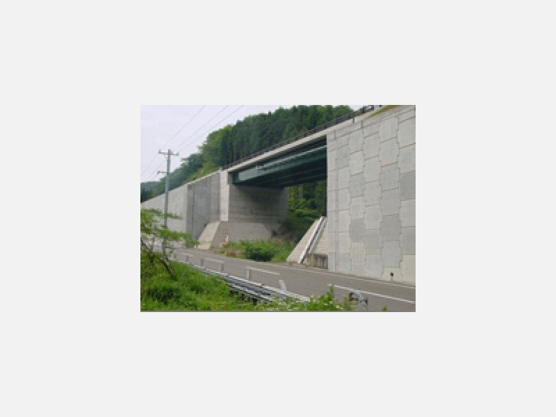 施工例/橋梁整備工事・砂防工事・道路改良工事