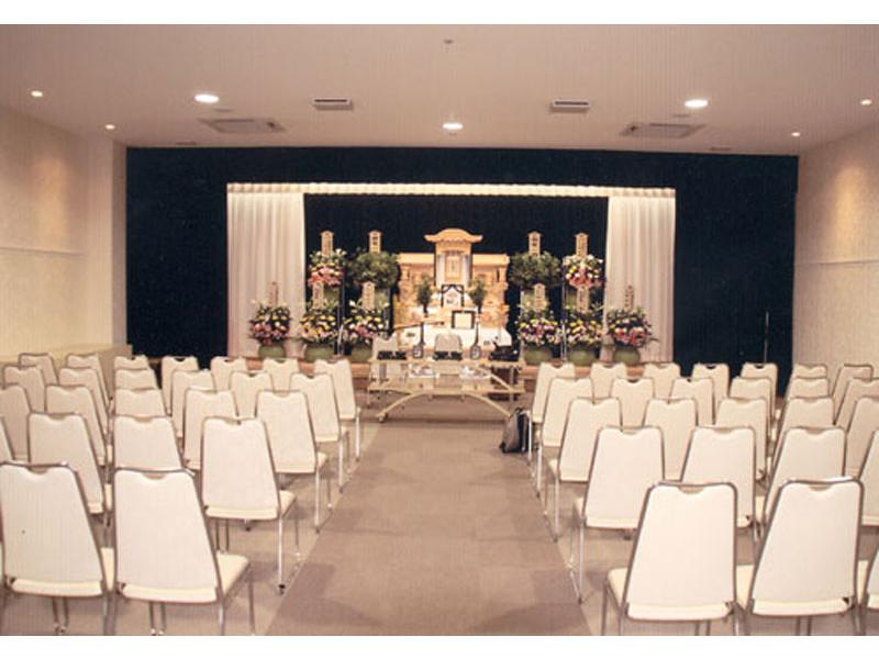 ▲葬儀ホール