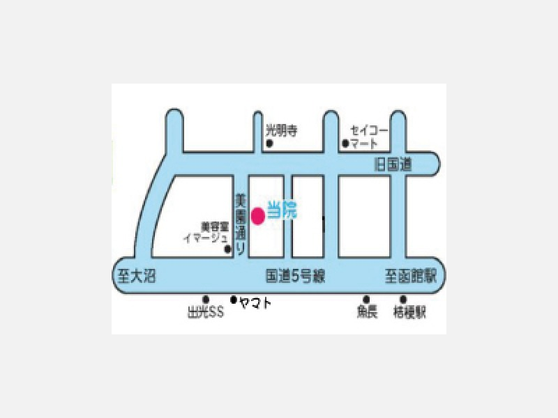 バス:「中の通」停徒歩3分・「大川中央」停徒歩5分