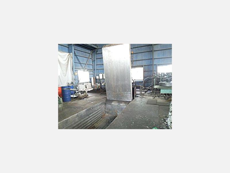 金属スクラップ 加工処理◆圧縮