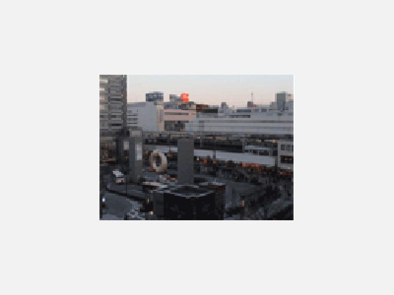 錦糸町駅北口正面〔ビジネスホテル元春〕