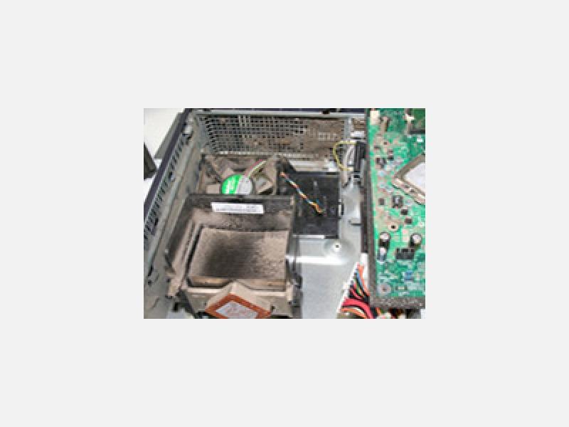 パソコンの定期メンテナンス・清掃