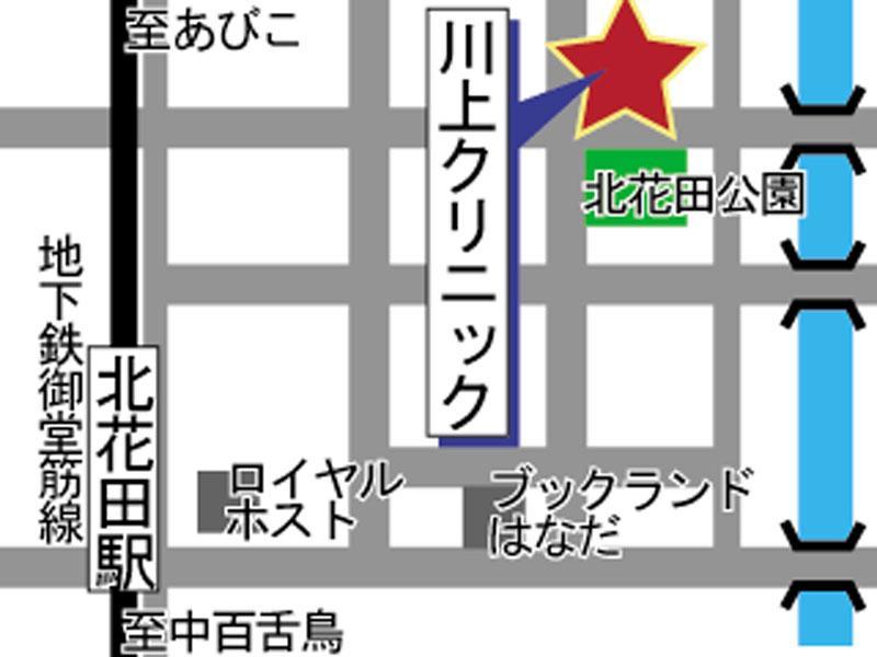 地下鉄御堂筋線北花田駅1番出口 北東へ5分