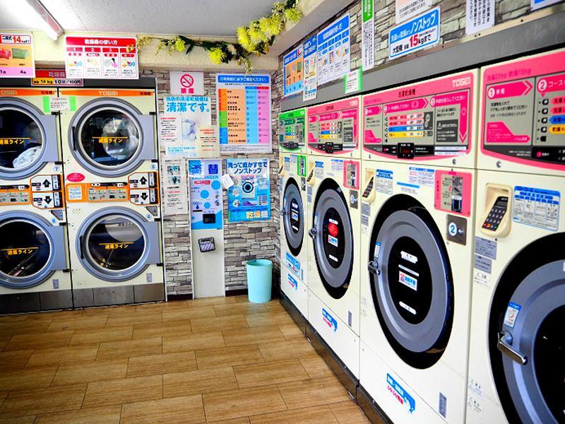 大須松原店 洗濯乾燥機4台 乾燥機4台