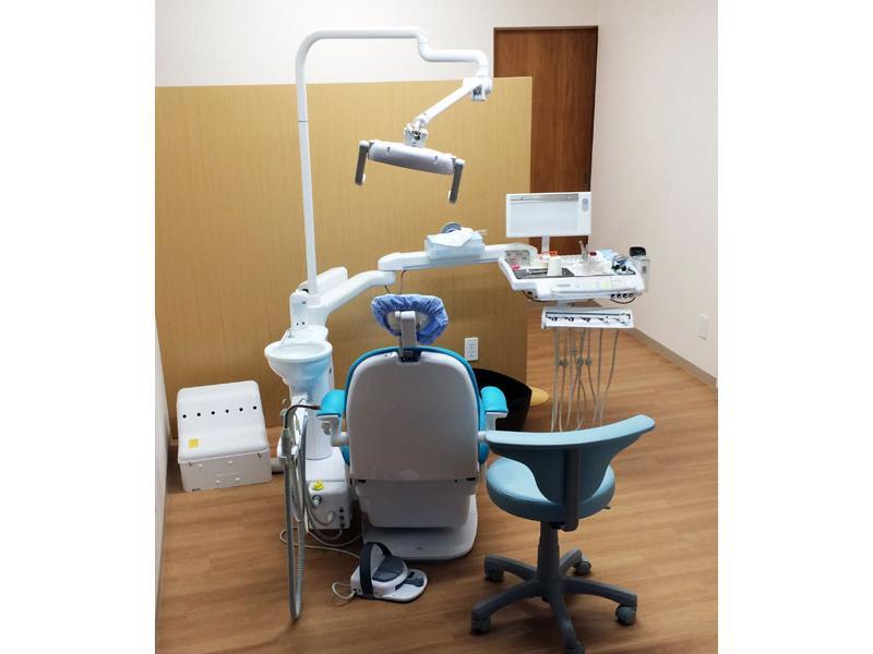 1階診察室は個室です