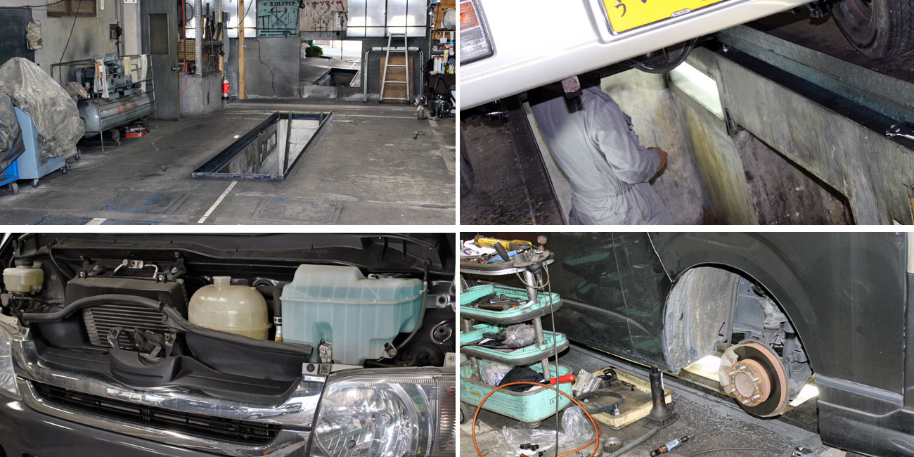 中国運輸局指定の「民間車検場」